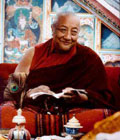 His Holiness Dilgo Khentse Rinpoche