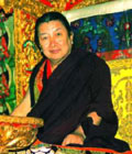 His Holiness Mindroling Trichen Rinpoche